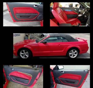 2004-2007 Ford Mustang Custom Door Panels