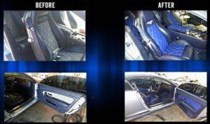Bentley Continental GT Interior Upgrade