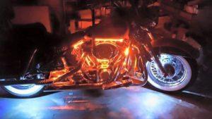 Custom LED Lighting Kits for Motorcycles