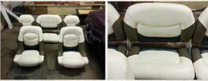 Fish & Ski Boat Seat Makeover