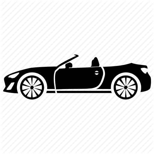 convertible top icon