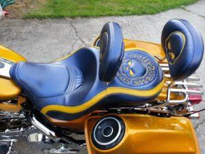 custom harley davidson seat
