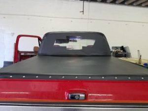 custome truck bed cover