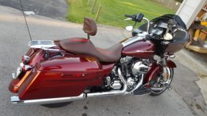 ride city customs harley seat