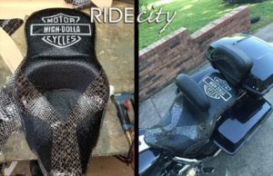 ride city high dollar motorcycle seat