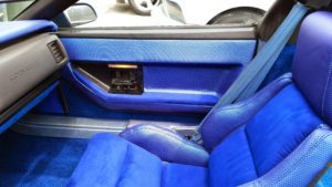 Corvette Blue Interior