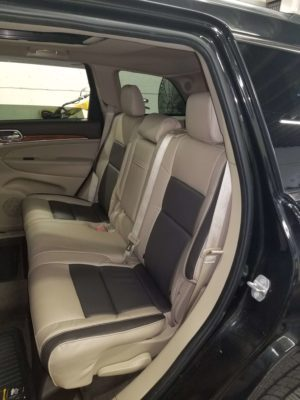 Jeep Two Tone Leather