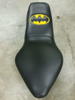 Batman Motorcycle Seat