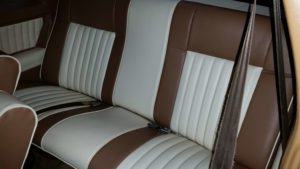 SS New Two Tone Leather Interior Back Seats