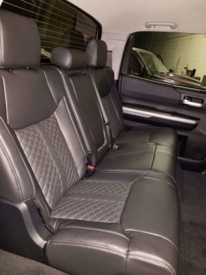 Tundra New Leather Interior Back Seats