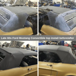 Ford Mustang Convertible Top Install