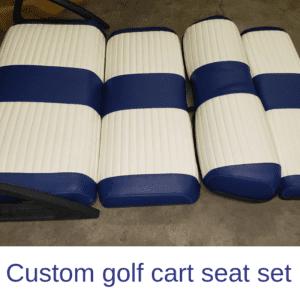 Custom Golf Cart Seat