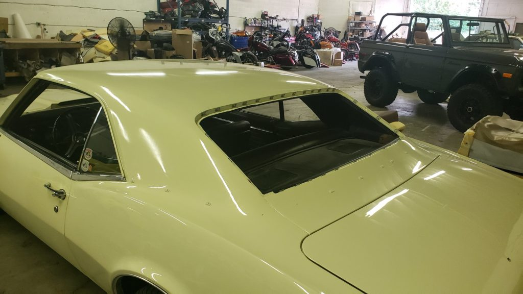 1967 Chevy Camaro SS Vinyl Top Install