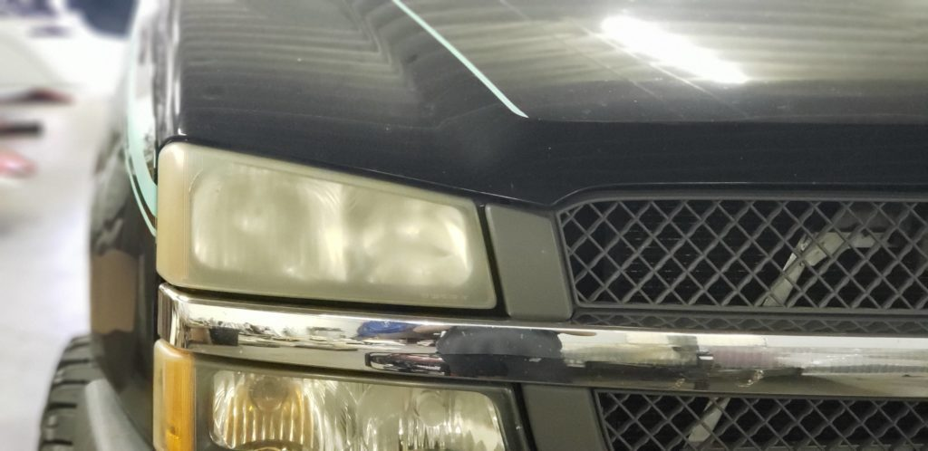 2004 Chevy Silverado Headlight Restoration